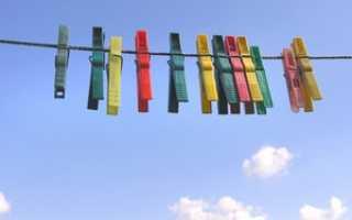 Веревки для белья на балкон: как повесить и натянуть, крепление