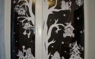 Вытынанки к 2018 году: шаблоны и схемы на окна, новогодние трафареты, фото