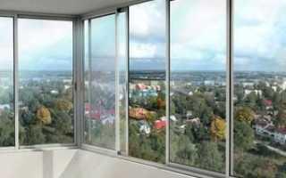 Варианты остекления балконов и лоджий: обзор разных видов, фото