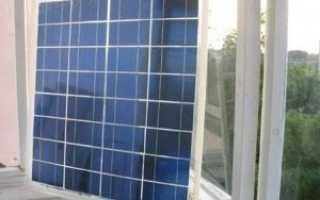 Солнечные батареи на балконе: как работают, устройство своими руками, видео