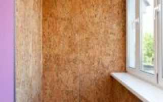Отделка стен на балконе: материалы и варианты облицовки
