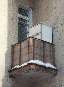морозилка на балконе