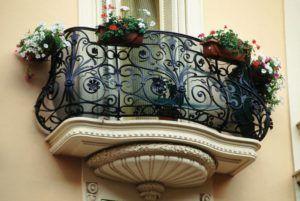 балкон по французски