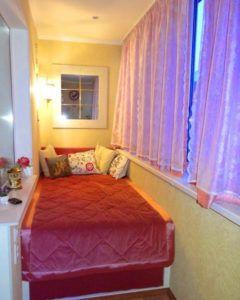 спальня балкон