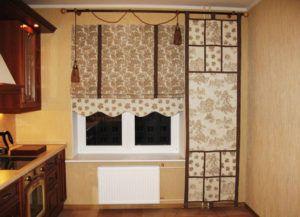 кухня шторы