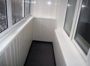 панели ПВХ балкон