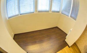закрытый балкон пол