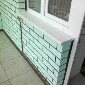 окраска балкона