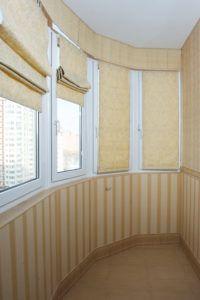 шторы балкон