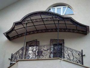 навес балкон