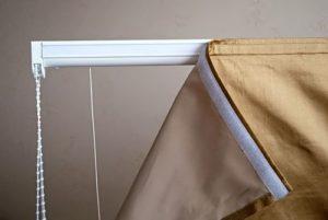 липучечная штора