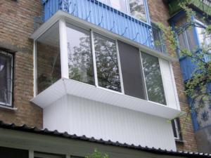 вынесенный балкон