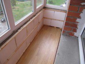 утеплитель балкон