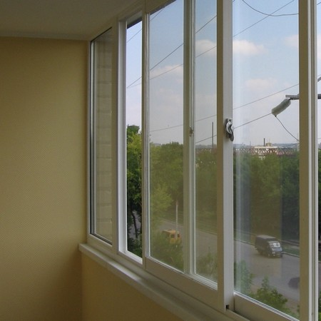 раздвижные окна на лоджии