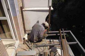 ремонт балконного ограждения