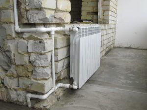 батарея на балконе