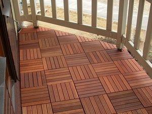 Плитка на балконе