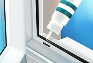 как смазать пластиковые окна