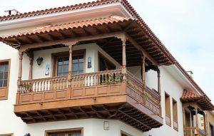 балкон с навесом
