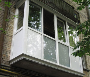 Французский балкон в Хрущевке