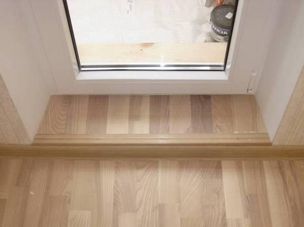 порог для балконной двери