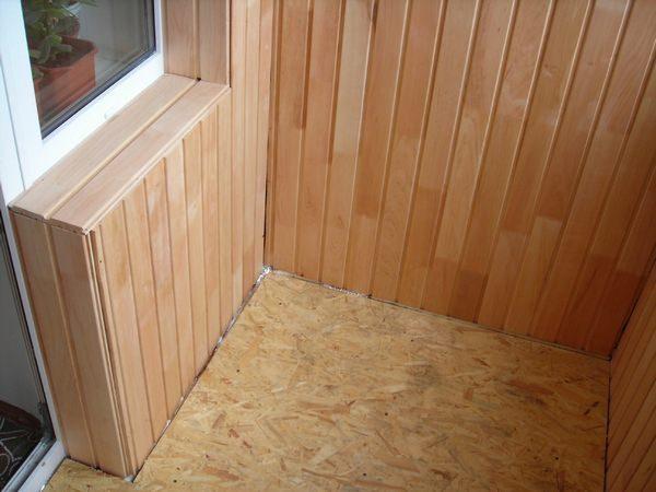 как правильно утеплить пол на балконе