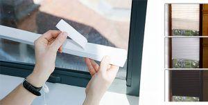 крепление бумажных штор