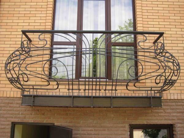 виды балконных ограждений