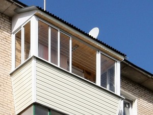ремонт крыши балкона на последнем этаже