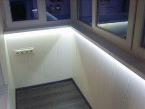 электропроводка на балконе