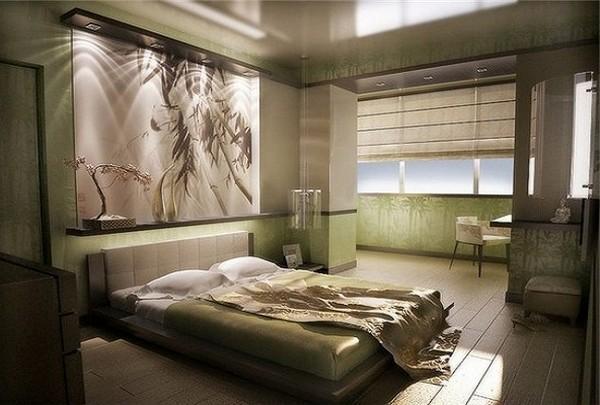 объединение спальни с лоджией