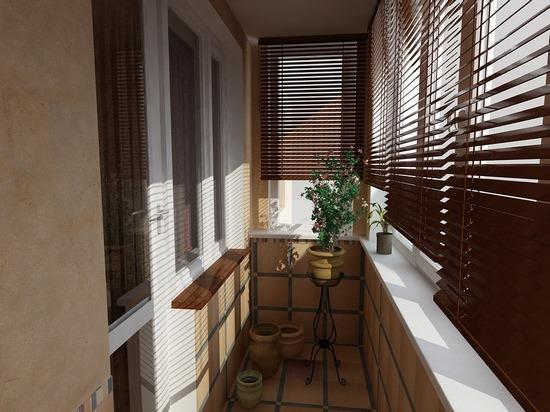 маленький балкон дизайн
