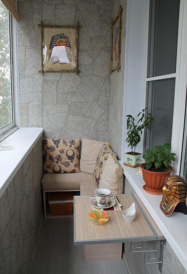 маленький балкон идеи