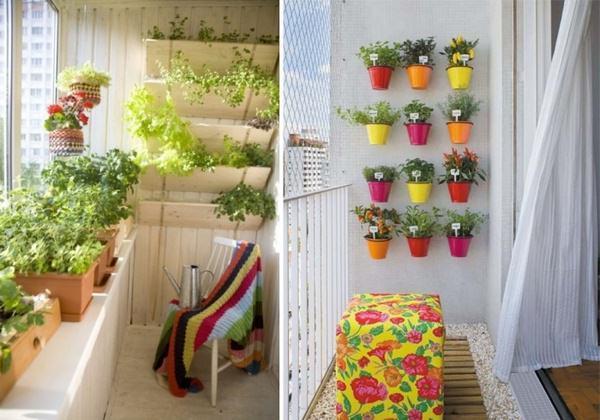 как обустроить маленький балкон