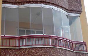 балкон стекло