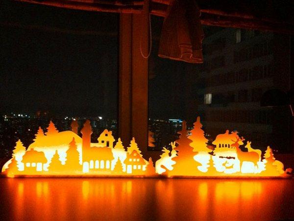 новогодние вытынанки на окна шаблоны