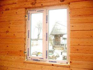 ПВХ окна для дома