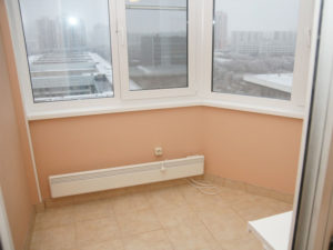 Балкон в доме П44
