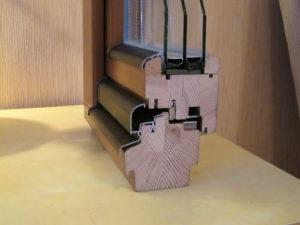 Профиль деревянных окон