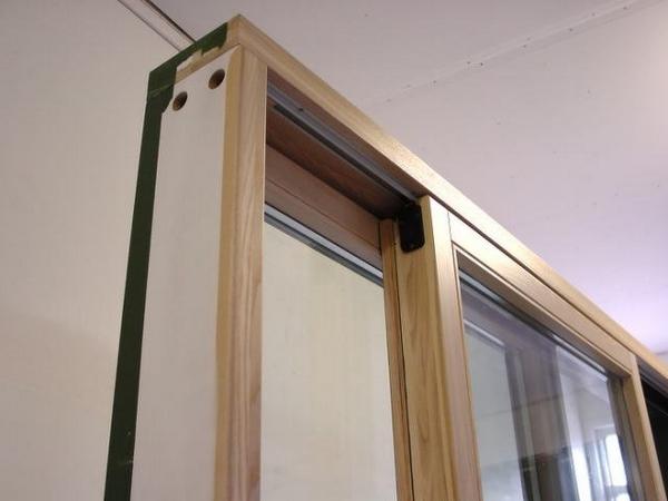 деревянные раздвижные балконные окна
