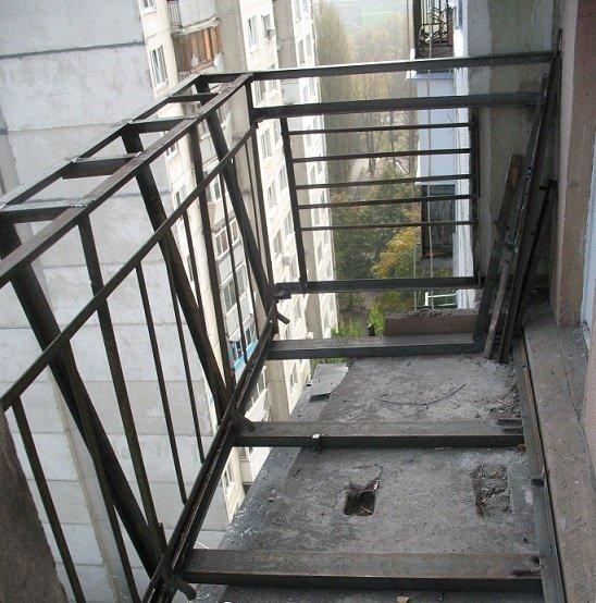 реконструкция балконной плиты