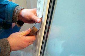ремонт балконной двери