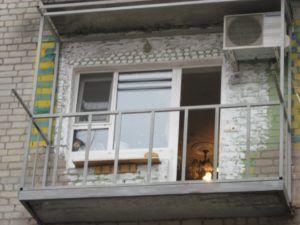 плита балкона