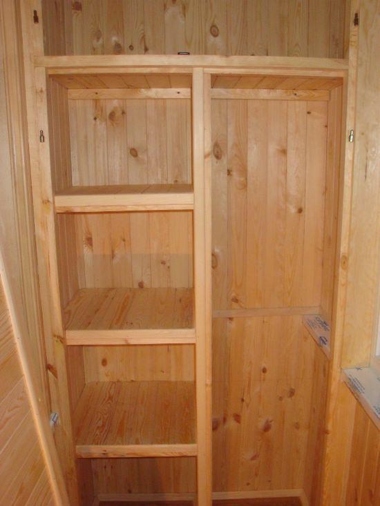 как сделать шкаф на лоджии своими руками