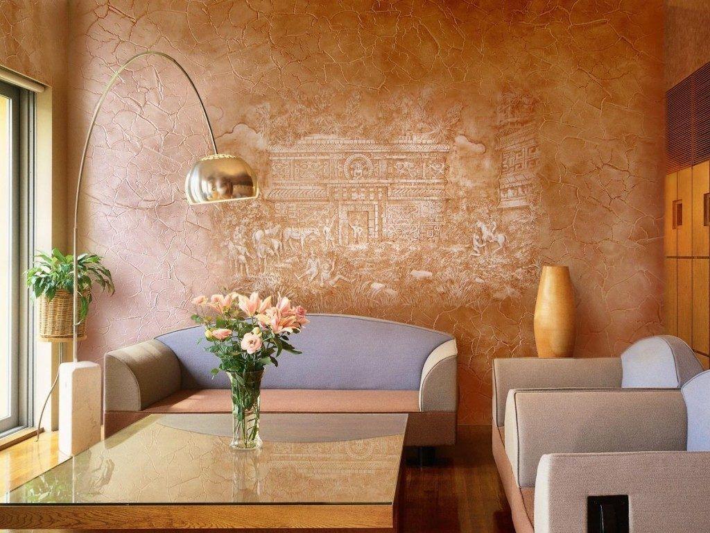 декоративное оштукатуривание стен