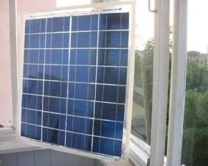 солнечные батареи на балконе
