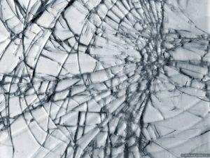 удалить стекло