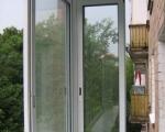 Алюминиевые раздвижные окна для балкона-2