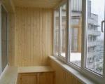 Обшивка вагонкой балкона-4