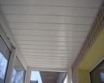 Обшивка потолка пластиковыми панелями